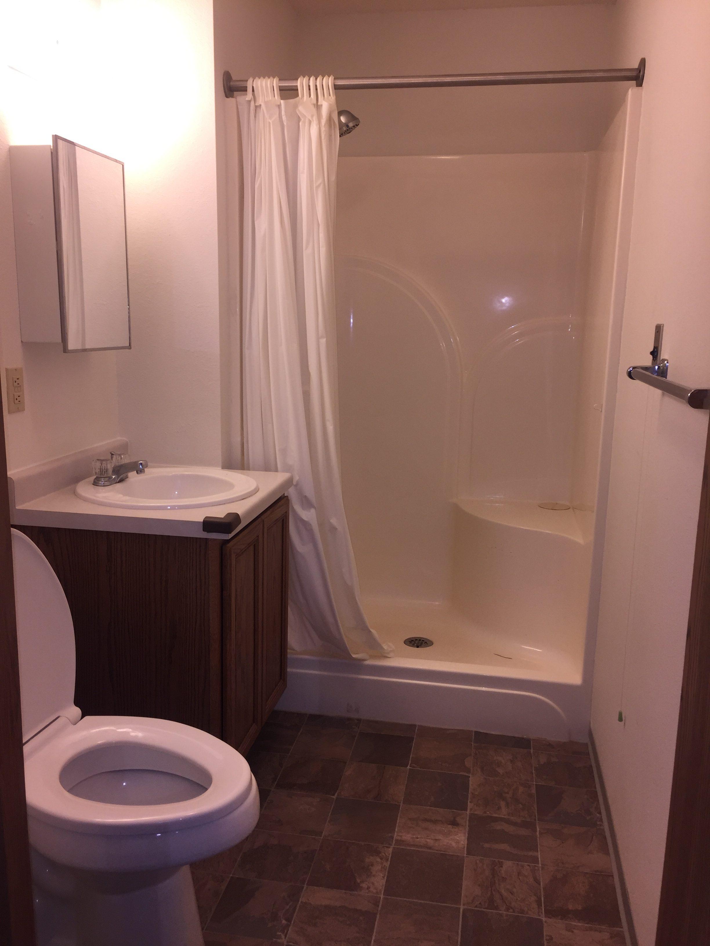 Bathroom - Valmeyer Senior Apartments