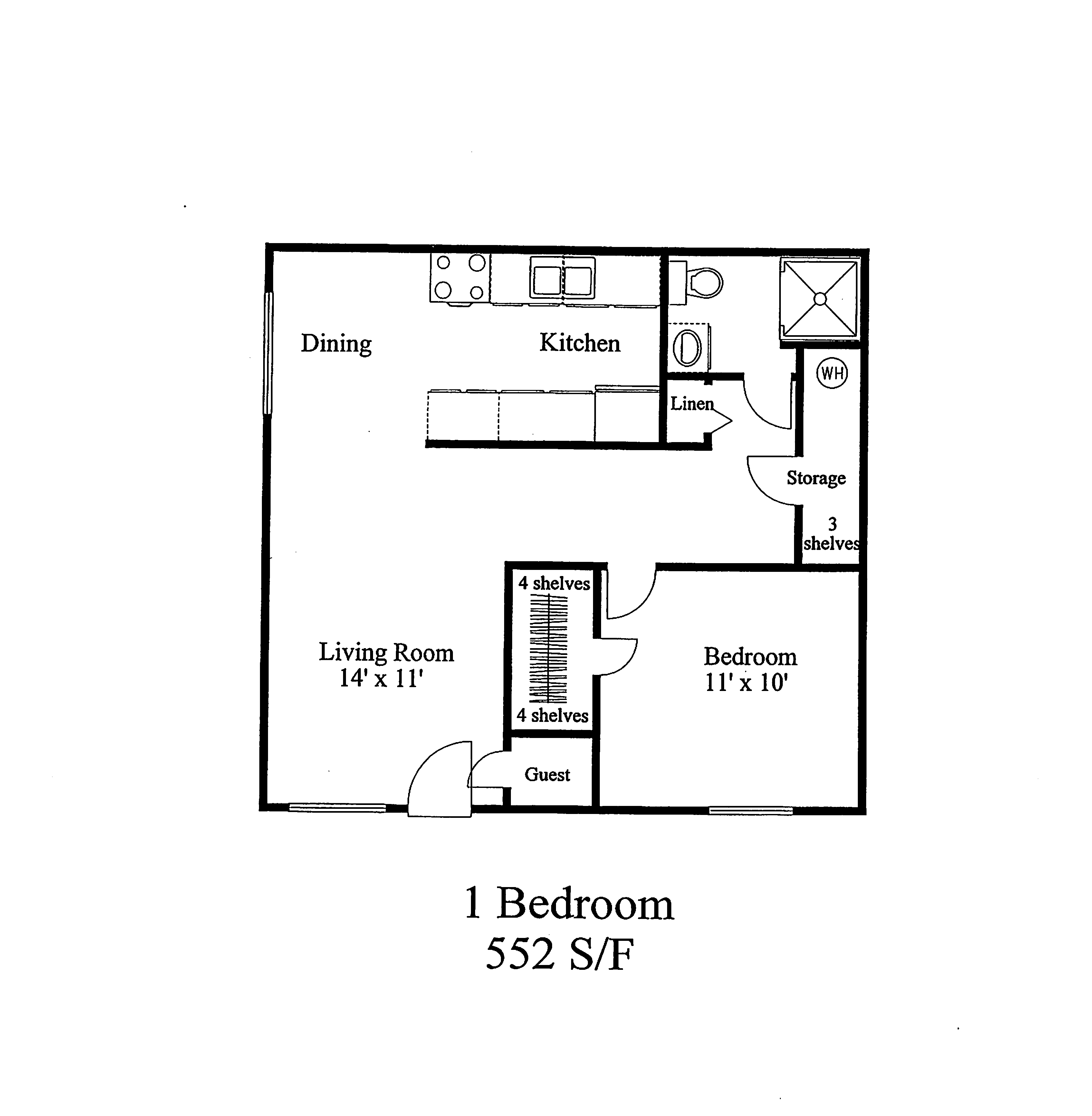 West Lake Apartments - 1BR