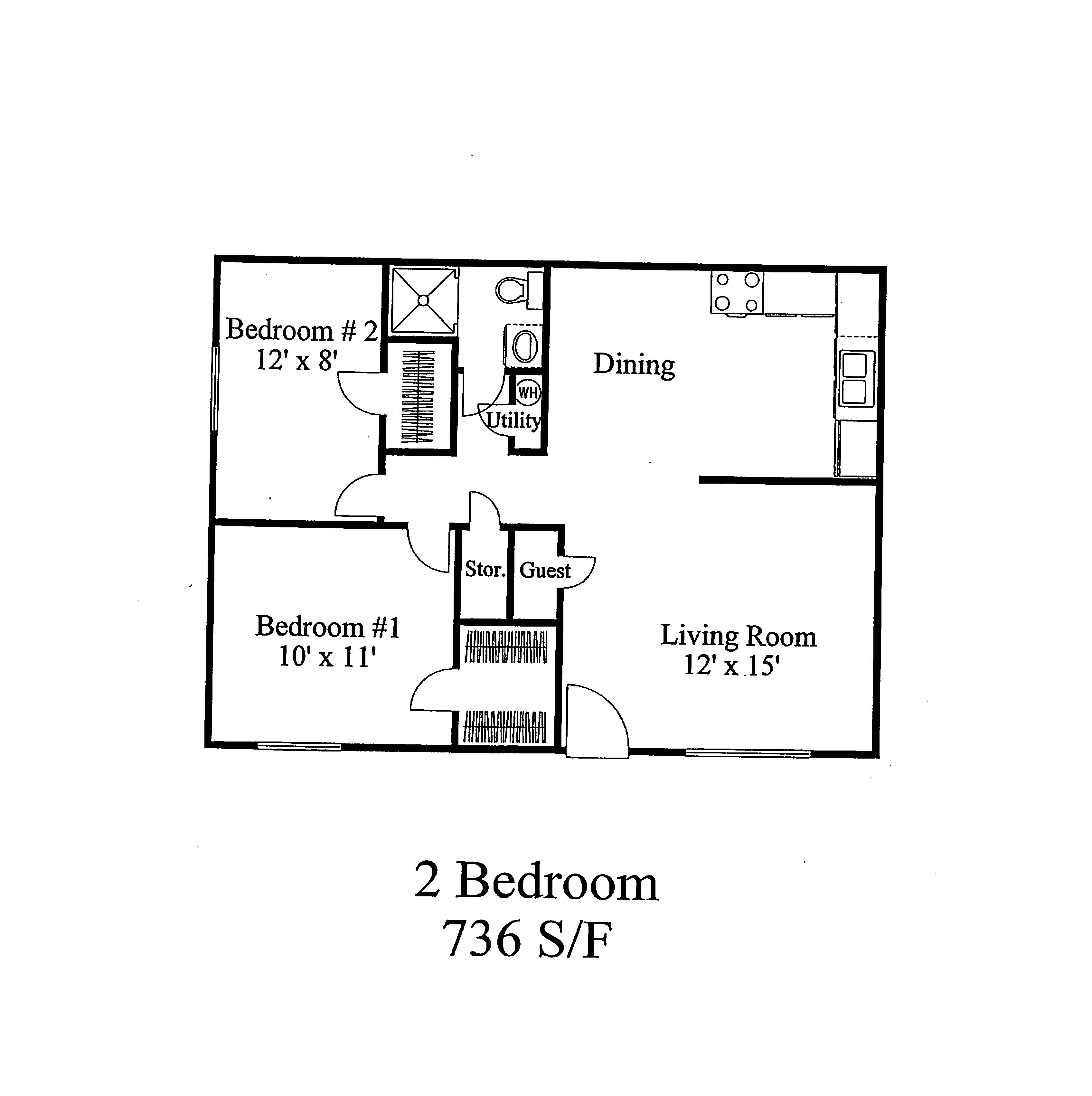 West Lake Apartments - 2BR