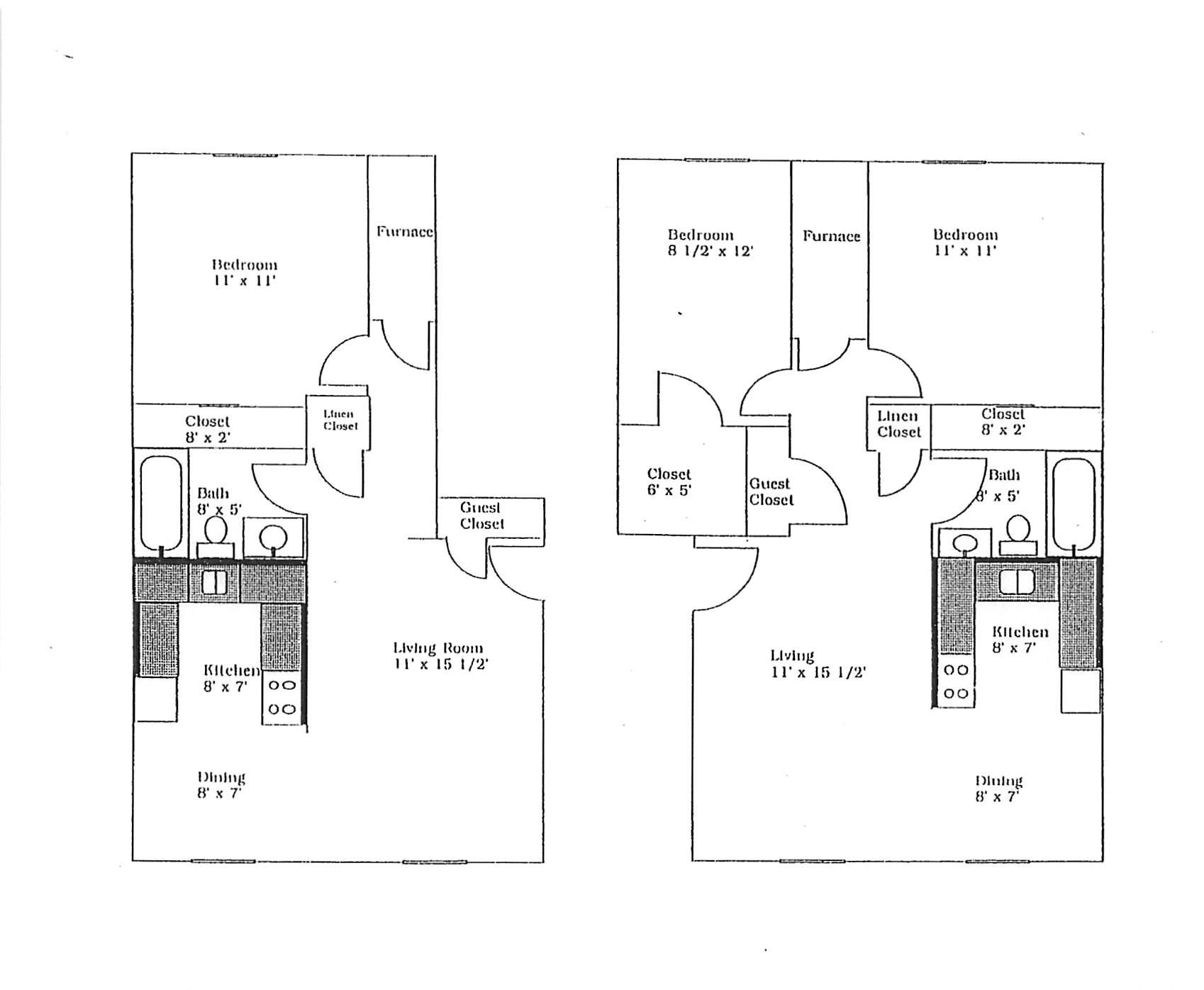 Daffodil Apartments 1 & 2BR